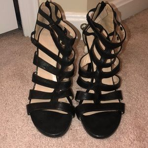 Stuart Weitzman Outing Strappy Caged Sandal